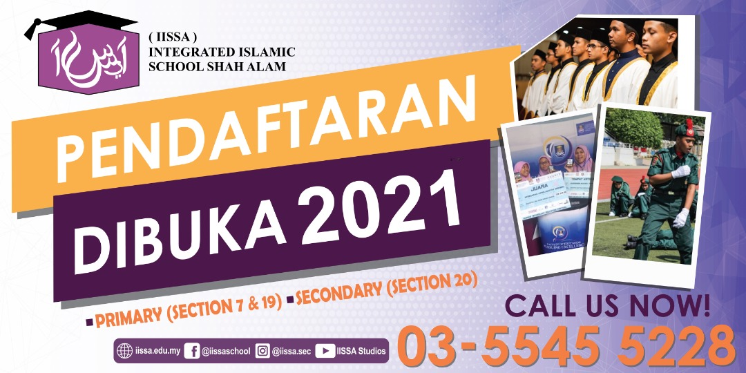 Open for 2021 Registration for Primary & Secondary